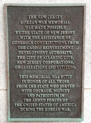 Dedication Plaque Photo, Click for full size