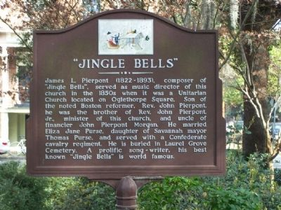 """JINGLE BELLS"" Marker Photo, Click for full size"