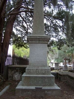 General Stephen Elliott 's C.S.A. Grave Photo, Click for full size