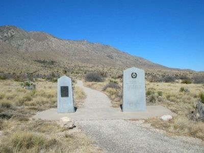"Airmen marker side-by-side with ""The Pinery"" marker. image. Click for full size."