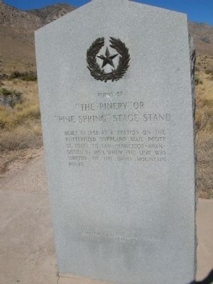 The Pinery Marker Photo, Click for full size