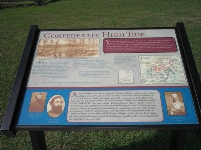 Confederate High Tide Marker image. Click for full size.