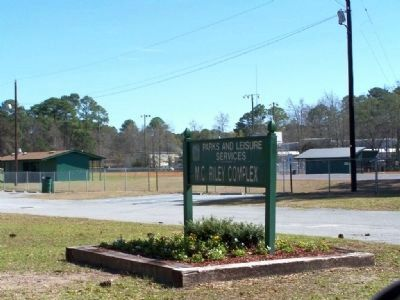 The MC Riley Compex (Recreational Park) now sits on the school site image. Click for full size.