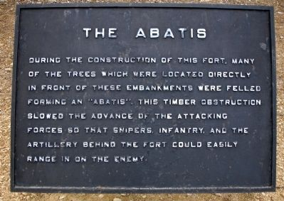 The Abatis Marker image. Click for full size.