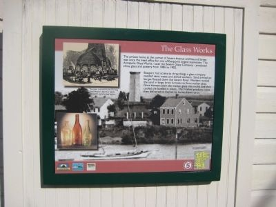 The Glass Works Marker image. Click for full size.