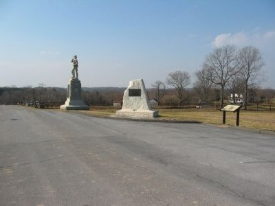7th Pennsylvania Reserves and Clara Barton Monuments at Stop Two Photo, Click for full size