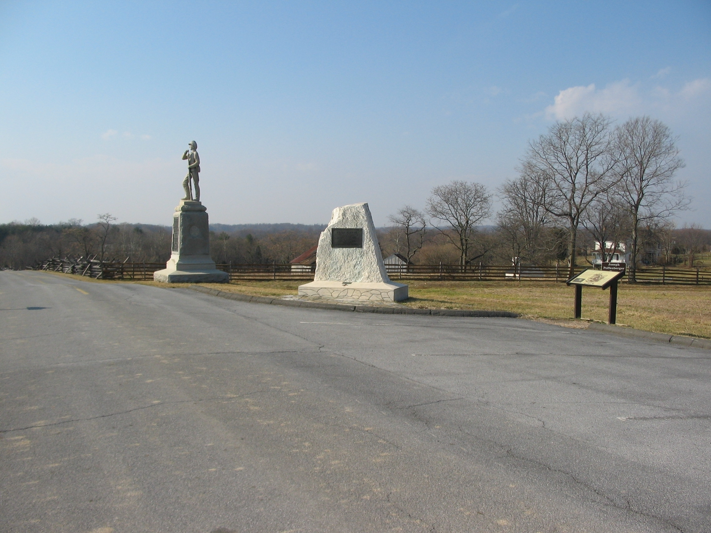 7th Pennsylvania Reserves and Clara Barton Monuments at Stop Two