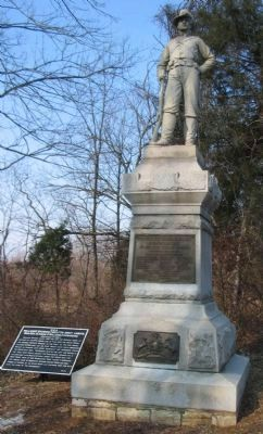 12th Pennsylvania Cavalry Monument image. Click for full size.