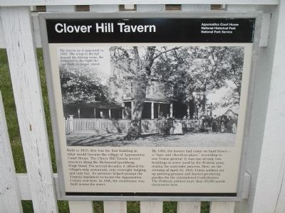 Clover Hill Tavern Photo, Click for full size