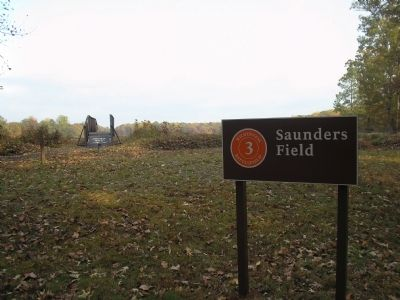 Saunders Field Tour Stop image. Click for full size.