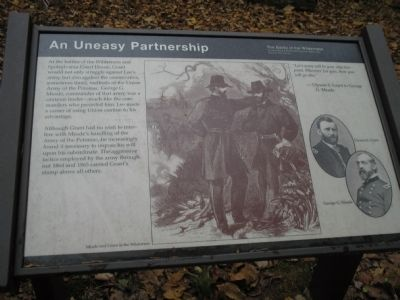 An Uneasy Partnership Marker image. Click for full size.