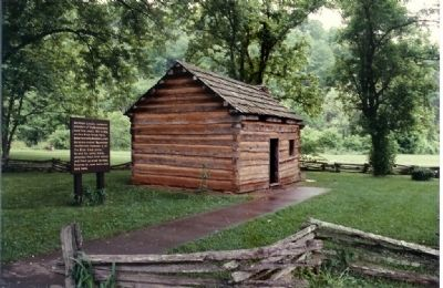 The replica cabin image. Click for full size.