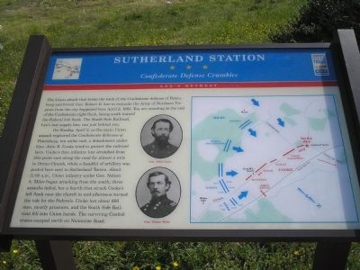 Sutherland Station Marker image. Click for full size.