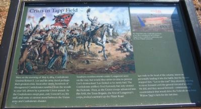 Crisis in Tapp Field Marker image. Click for full size.