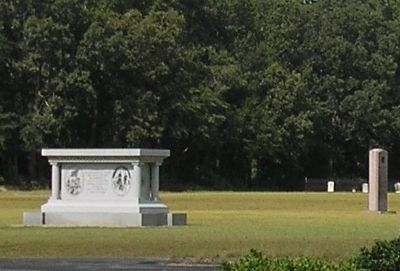 North Carolina and Texas Monuments Photo, Click for full size