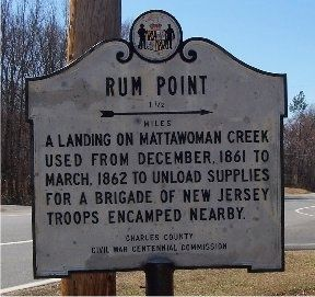 Rum Point Marker Photo, Click for full size