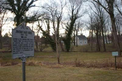 Marker and Hager House Photo, Click for full size