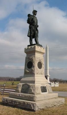 124th Pennslyvania Monument image. Click for full size.