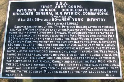 Patrick's Brigade Tablet image. Click for full size.