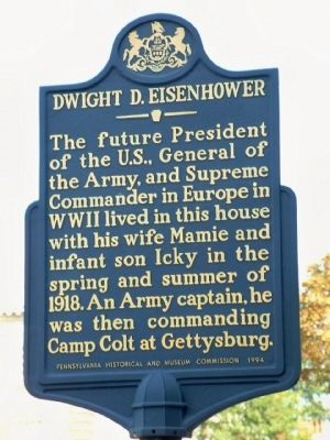 Dwight D. Eisenhower Marker image. Click for full size.