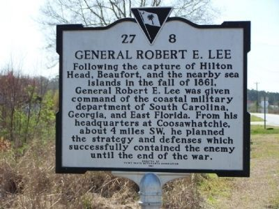 General Robert E. Lee Marker image. Click for full size.