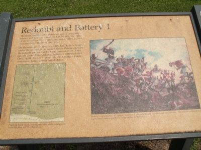 Redoubt and Battery 1 Marker image. Click for full size.
