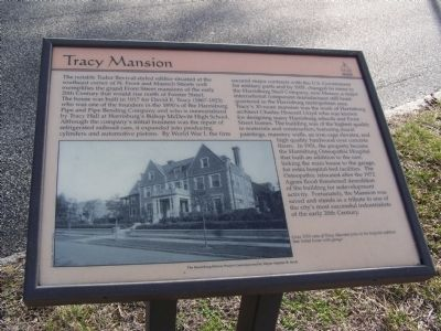 Tracy Mansion Marker image. Click for full size.