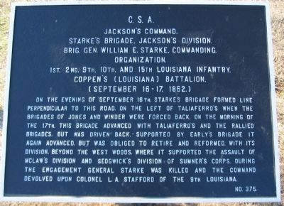 Starke's Brigade Tablet image. Click for full size.