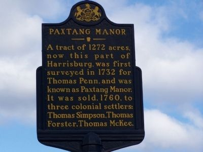Paxtang Manor Marker image. Click for full size.