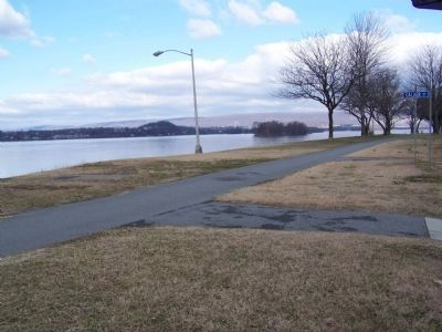 View of Susquehanna River from marker. image. Click for full size.