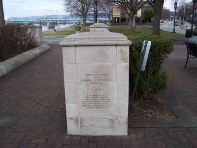 Wide view of marker. image. Click for full size.
