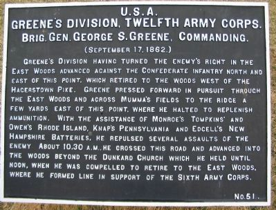 Greene's Division Tablet image. Click for full size.