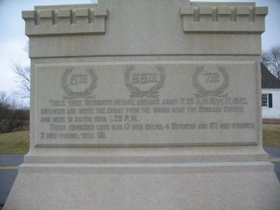 Rear Face of Monument image. Click for full size.