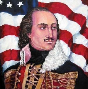 General C. Pulaski, image. Click for full size.