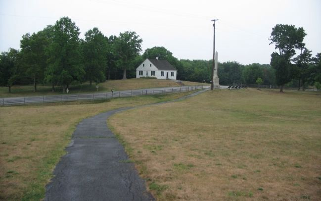 The Dunker Church from Lee's Artillery Position image. Click for full size.
