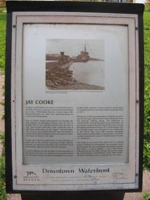 Jay Cooke Marker Photo, Click for full size