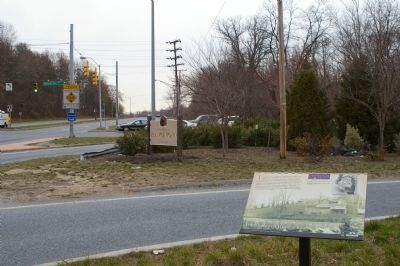 Franklintown's Historic Roots Marker image. Click for full size.