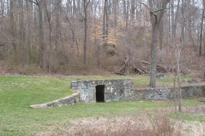 Ice house and root cellar image. Click for full size.