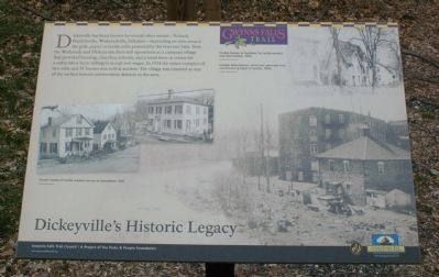 Dickeyville's Historic Legacy Marker image. Click for full size.