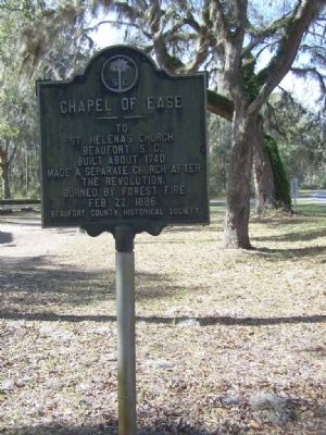 Chapel of Ease Marker Photo, Click for full size