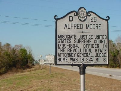 Alfred Moore Marker image. Click for full size.