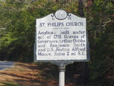 St. Philips Church Marker Photo, Click for full size