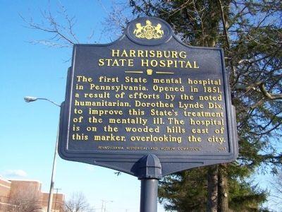 Harrisburg State Hospital Historical Marker