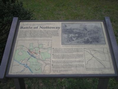 Battle of Nottoway image. Click for full size.