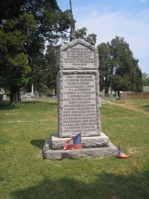 Washington Artillery Monument Photo, Click for full size