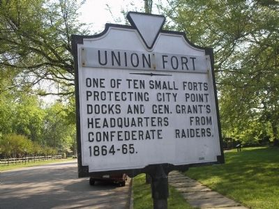 Union Fort Marker image. Click for full size.