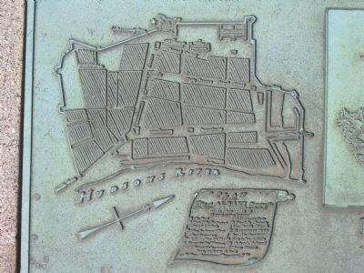Detail of Fort Frederick Plaque Photo, Click for full size
