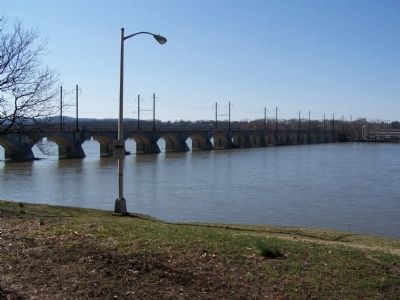 Cumberland Valley Railroad Bridge image. Click for full size.