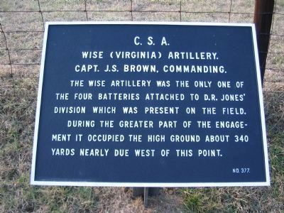 Wise Artillery Tablet image. Click for full size.