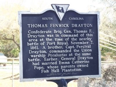 Thomas Fenwick Drayton Marker image. Click for full size.